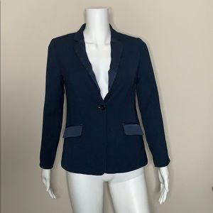 Navy Banana Republic blazer - Size 0P